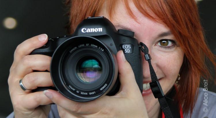 Die Chefin der Fotodetektivinnen Elisabeth Pfahler-Scharf