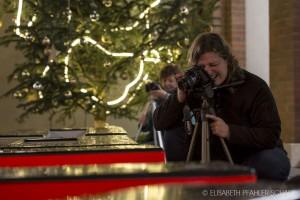 eifrige Fotoworkshop Teilnehmerinnen